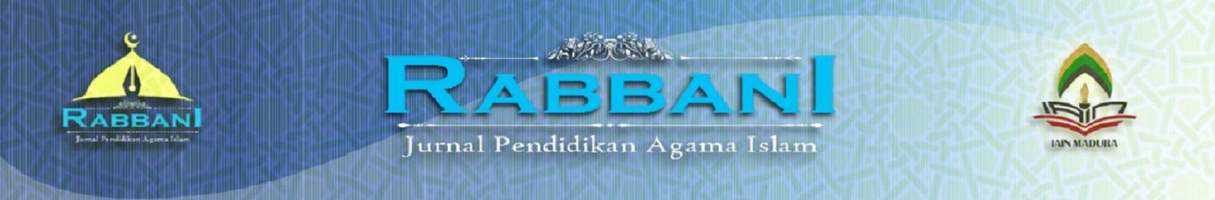 Rabbani: Jurnal Pendidikan Islam